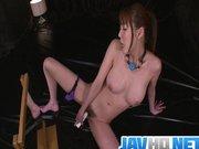 Gagged Akari Asagiri Has An Orgasm From A Vib